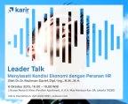 Siasati Kondisi Ekonomi dengan Peran HR – Prawacana HR Leader Talk