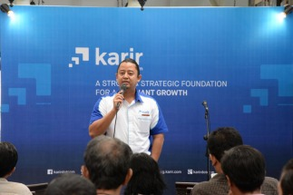 CEO Karir.com Dino Martin
