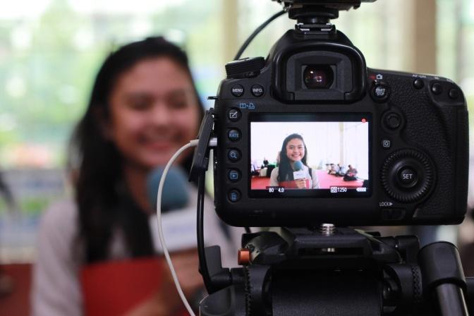 Casting Reporter SCTV & Indosiar di Karir.com Expo Jakarta & Bandung