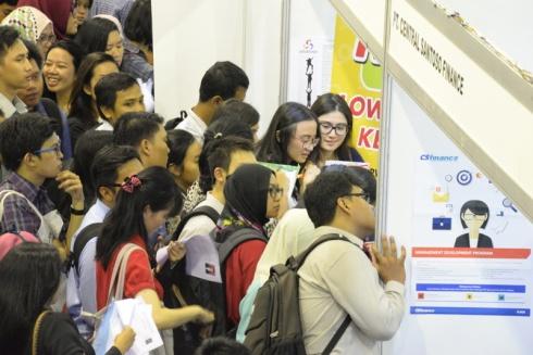 Sukses Mendapatkan Pekerjaan Dari Job Fair