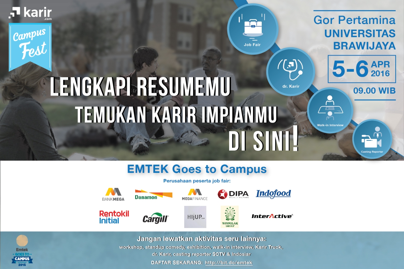 emtek goes to campus malang