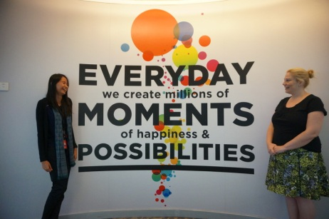 Everyday, we create millions of moments of happiness and possibilities (Karir.com/Aulia Rahmi)