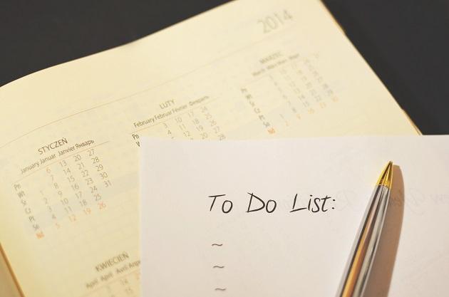 Buat to-do list atau daftar pekerjaan